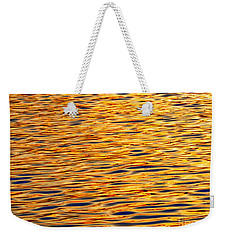 Ocean Sunset Weekender Tote Bag by Carol F Austin