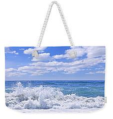 Ocean Surf Weekender Tote Bag by Elena Elisseeva
