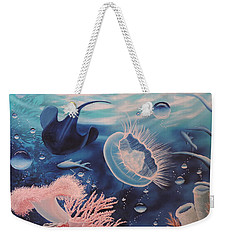 Ocean Treasures Weekender Tote Bag by Dianna Lewis