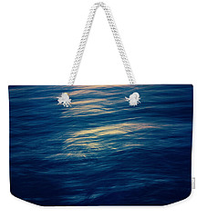 Weekender Tote Bag featuring the photograph Ocean Twilight by Ari Salmela