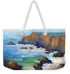 Schoolhouse Beach Overlook Weekender Tote Bag