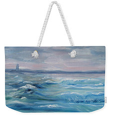 Oceans Of Color Weekender Tote Bag