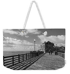 Oceanside Pier Weekender Tote Bag by Ana V Ramirez