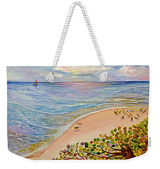 Seaside Grapes Weekender Tote Bag