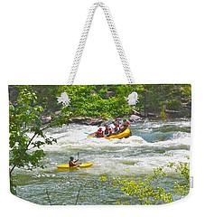 Ocoee White Water Weekender Tote Bag by Carol  Bradley