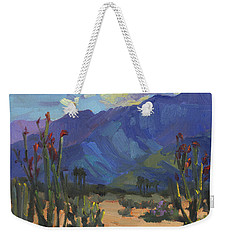 Ocotillos At Smoke Tree Ranch Weekender Tote Bag by Diane McClary