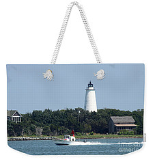 Ocracoke Light Weekender Tote Bag by Christiane Schulze Art And Photography