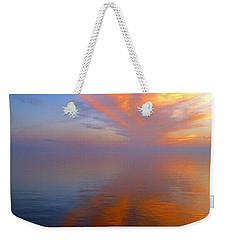 Ocracoke Nc Sunrise Weekender Tote Bag