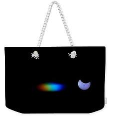 October 2014 Partial Solar Eclipse Weekender Tote Bag