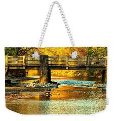 October At Robin Hood Dell Weekender Tote Bag