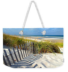 Weekender Tote Bag featuring the photograph October Beach by Dianne Cowen