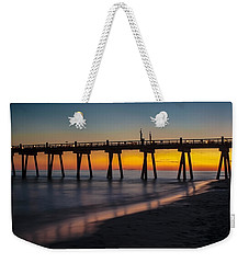 October Sunset Weekender Tote Bag