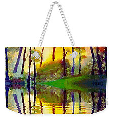 October Surprise Weekender Tote Bag by Holly Martinson