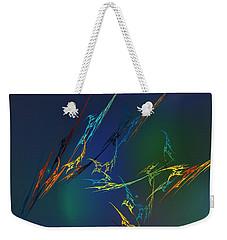 Weekender Tote Bag featuring the digital art Ode To Joy by David Lane