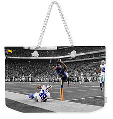 Odell Beckham Breaking The Internet Weekender Tote Bag by Brian Reaves