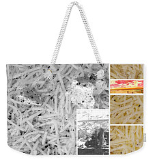 Weekender Tote Bag featuring the photograph Odio Si Sta Sciogliendo by Sir Josef - Social Critic - ART