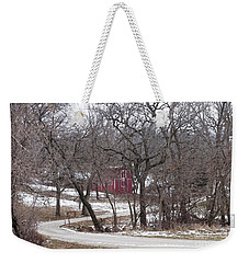 Weekender Tote Bag featuring the photograph Off The Beaten Path by Liane Wright