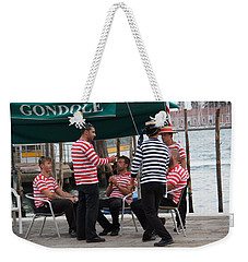 Off The Canal Weekender Tote Bag