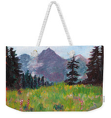 Off The Trail 2 Weekender Tote Bag by C Sitton