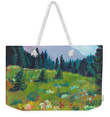 Off The Trail Weekender Tote Bag by C Sitton
