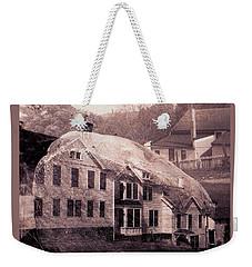 Ogden Farm Double Exposure Weekender Tote Bag by Peter Gumaer Ogden