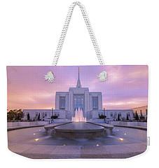 Ogden Temple I Weekender Tote Bag