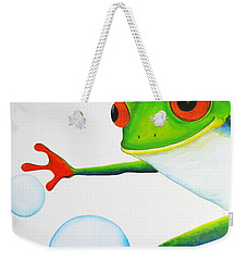 Oh Bubbles Weekender Tote Bag by Oiyee At Oystudio