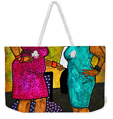 Oh Girl Don't Make Me Laugh Weekender Tote Bag
