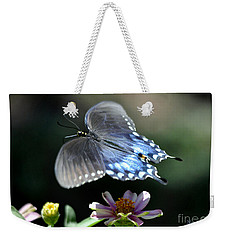 Weekender Tote Bag featuring the photograph Oh Heavenly Garden by Nava Thompson