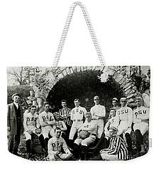 Ohio State Football Circa 1890 Weekender Tote Bag by Jon Neidert