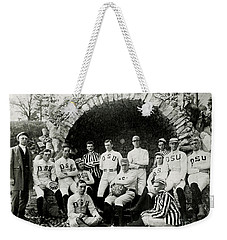 Ohio State Football Circa 1890 Weekender Tote Bag