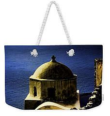 Oia Greece Weekender Tote Bag