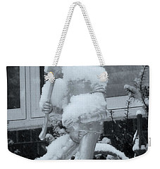 Oil Can What? Weekender Tote Bag by Nina Silver