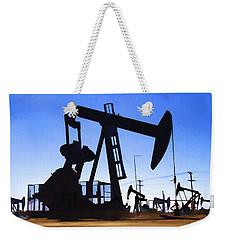 Oil Fields Weekender Tote Bag