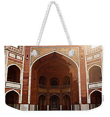 Oil Painting - Cross Section Of Humayun Tomb Weekender Tote Bag