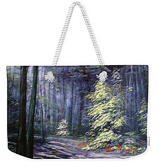 Oil Painting - Forest Light Weekender Tote Bag