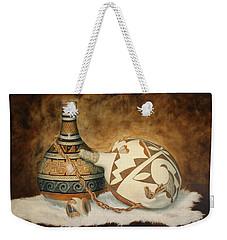 Oil Painting - Indian Pots Weekender Tote Bag
