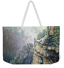 Oil Painting - Majestic Canyon Weekender Tote Bag