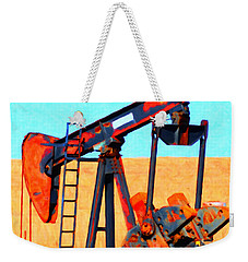 Oil Pump - Painterly Weekender Tote Bag