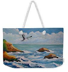 Oiseau Solitaire Weekender Tote Bag