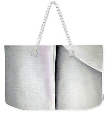 O'keeffe's Line And Curve Weekender Tote Bag by Cora Wandel