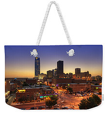 Oklahoma City Nights Weekender Tote Bag