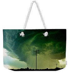 Oklahoma Mesocyclone Weekender Tote Bag by Ed Sweeney