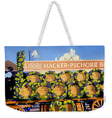 Weekender Tote Bag featuring the painting Oktoberfest by Lynne Reichhart