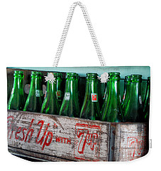 Old 7 Up Bottles Weekender Tote Bag