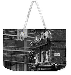 Weekender Tote Bag featuring the photograph Old And New by Chevy Fleet