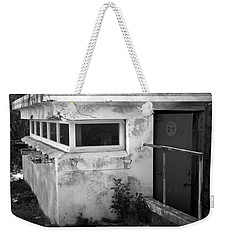 Weekender Tote Bag featuring the photograph Old Army Lookout by Miroslava Jurcik