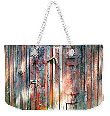 Old Barn Door 2 Weekender Tote Bag