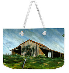 Old Barn Landscape Art Pleasant Hill Louisiana  Weekender Tote Bag