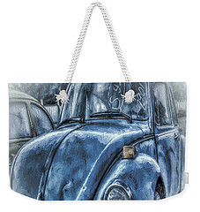 Old Blue Bug Weekender Tote Bag